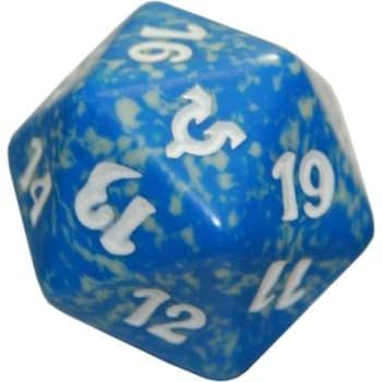 Avacyn Restored - D20 Spindown Life Counter - Blue