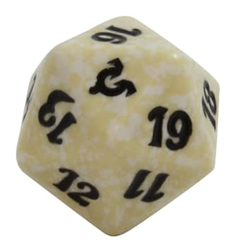 Avacyn Restored - D20 Spindown Life Counter - White