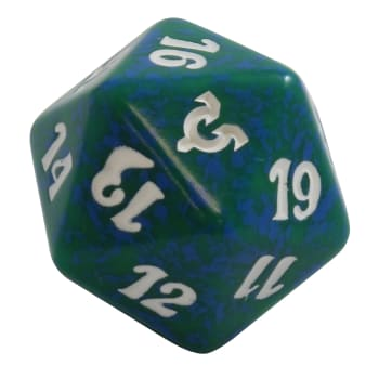 Avacyn Restored - D20 Spindown Life Counter - Green