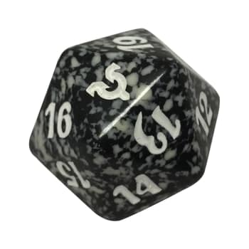 Avacyn Restored - D20 Spindown Life Counter - Black