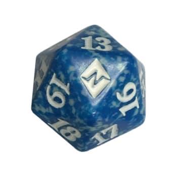 Battle for Zendikar - D20 Spindown Life Counter - Blue