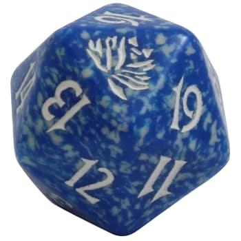 Beatdown - D20 Spindown Life Counter - Blue