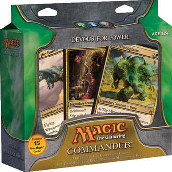 Commander (2011 Edition) - Devour For Power Deck