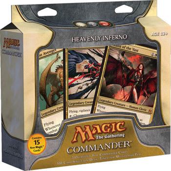 Commander (2011 Edition) - Heavenly Inferno Deck