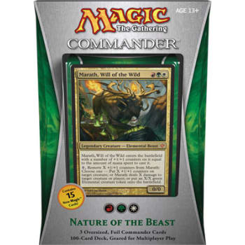 Commander (2013 Edition) - Nature of the Beast Deck
