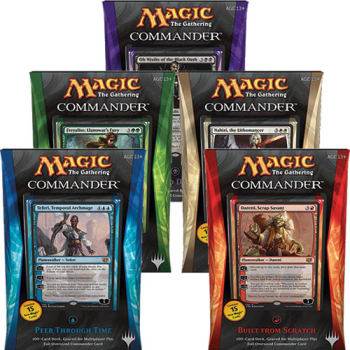 Commander (2014 Edition) - Complete Set of 5