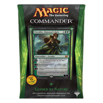 Commander (2014 Edition) - Guided by Nature Deck