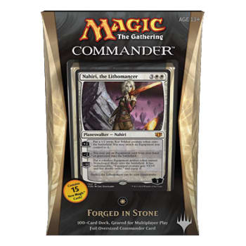 Commander (2014 Edition) - Forged in Stone Deck