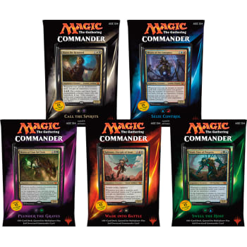 Commander (2015 Edition) - Complete Set of 5