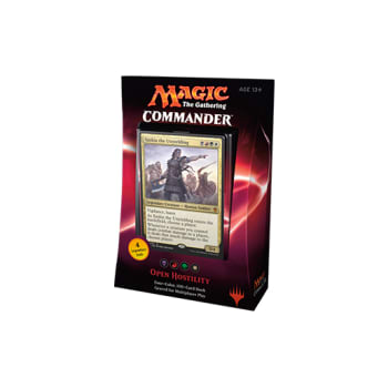 Commander (2016 Edition) - Open Hostility