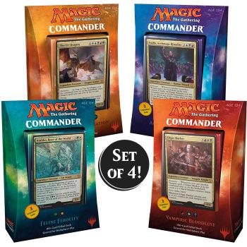 Commander (2017 Edition) - Complete Set of 4