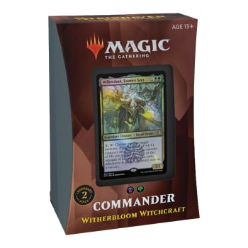 Commander 2021 Edition - Witherbloom Witchcraft Commander Deck