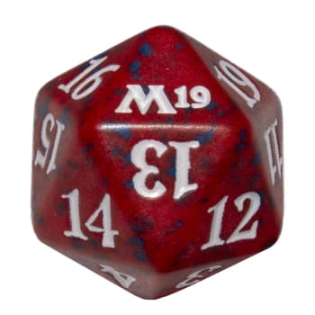 Core Set 2019 - D20 Spindown Life Counter - Red