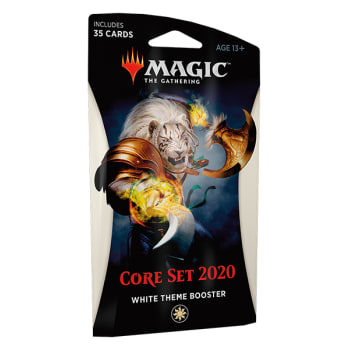 Core Set 2020 - White Theme Booster - Ajani