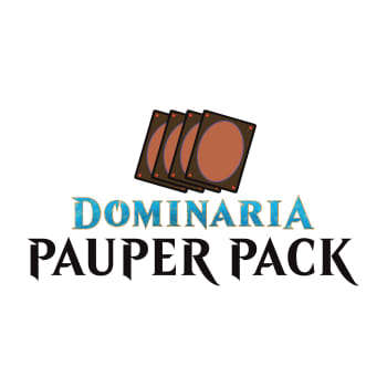 Dominaria Pauper Pack - (Common Play Set)