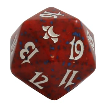 Eventide - D20 Spindown Life Counter - Red