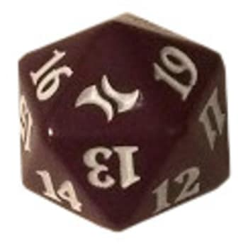 Fate Reforged - D20 Spindown Life Counter - Sultai (Purple)