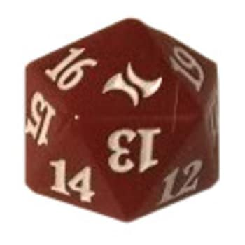 Fate Reforged - D20 Spindown Life Counter - Mardu (Red)