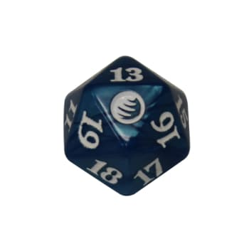 From the Vault: Transform - D20 Spindown Life Counter - Blue