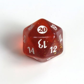 From the Vault Twenty - D20 Spindown Life Counter