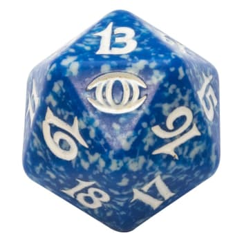 Future Sight - D20 Spindown Life Counter - Blue
