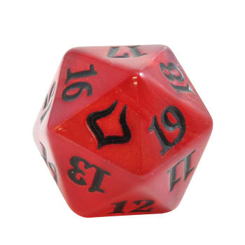 Hour of Devastation - D20 Spindown Life Counter - Red