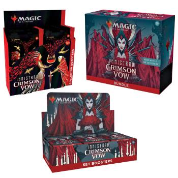 Innistrad: Crimson Vow - Variety Pack - Set Booster + Bundle + Collector Booster