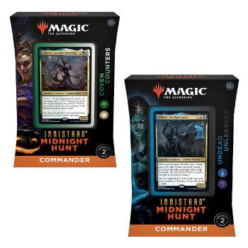 Innistrad: Midnight Hunt - Commander Deck - Set of 2