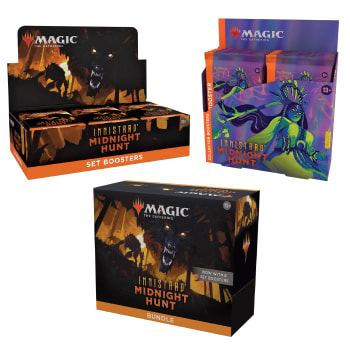 Innistrad: Midnight Hunt - Variety Pack - Set Booster + Bundle + Collector Booster