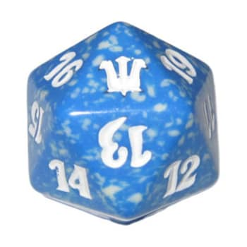 Innistrad - D20 Spindown Life Counter - Blue