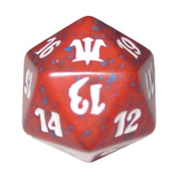 Innistrad - D20 Spindown Life Counter - Red