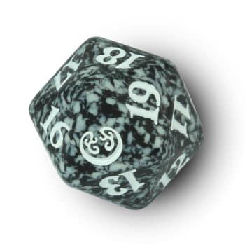 Kaladesh - D20 Spindown Life Counter - Black