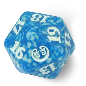 Kaladesh - D20 Spindown Life Counter - Blue
