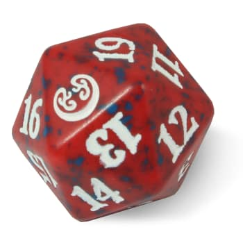 Kaladesh - D20 Spindown Life Counter - Red