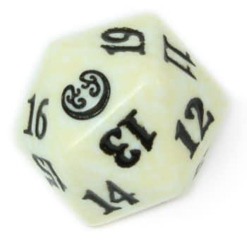 Kaladesh - D20 Spindown Life Counter - White