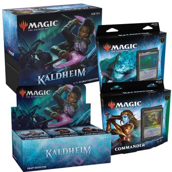 Kaldheim - Variety Pack - Draft Booster Box + Bundle + Commander set of 2