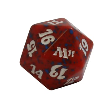 Magic 2011 - D20 Spindown Life Counter - Red
