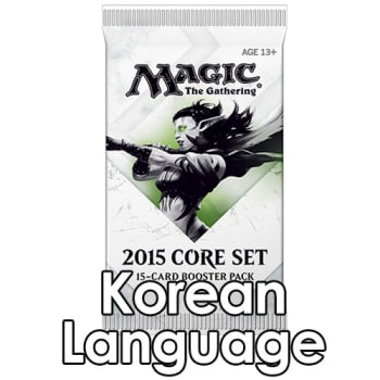 Magic 2015 - Booster Pack (Korean)