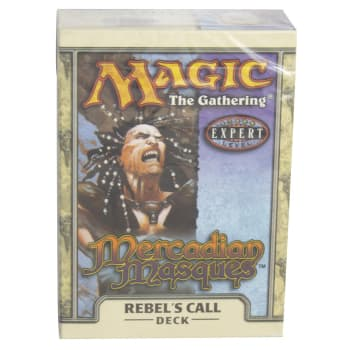 Mercadian Masques Precon - Rebel's Call (Theme Deck)