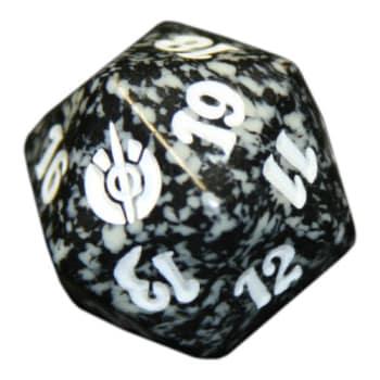 Mirrodin Besieged - D20 Spindown Life Counter - Black