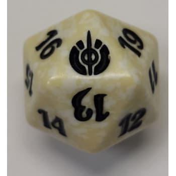Mirrodin Besieged - D20 Spindown Life Counter - White