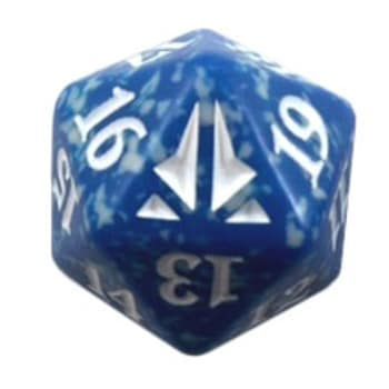 Oath of the Gatewatch - D20 Spindown Life Counter - Blue
