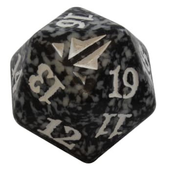Oath of the Gatewatch - D20 Spindown Life Counter - Black