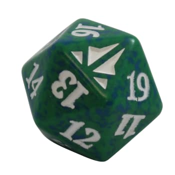 Oath of the Gatewatch - D20 Spindown Life Counter - Green