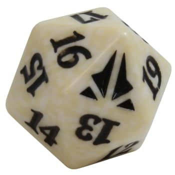 Oath of the Gatewatch - D20 Spindown Life Counter - White