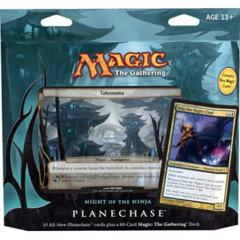 Planechase (2012 Edition) - Night of the Ninja Game Pack