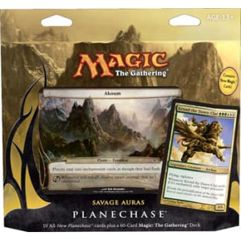 Planechase (2012 Edition) - Savage Auras Game Pack