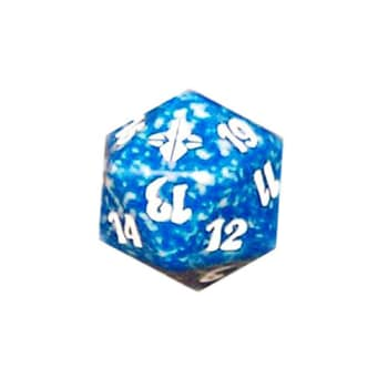 Rise of the Eldrazi - D20 Spindown Life Counter - Blue