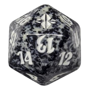 Rise of the Eldrazi - D20 Spindown Life Counter - Black