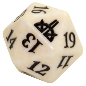 Rivals of Ixalan - D20 Spindown Life Counter - White